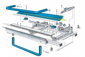 Деталировка листогиба MARK, покупка листогиба от завода производителя